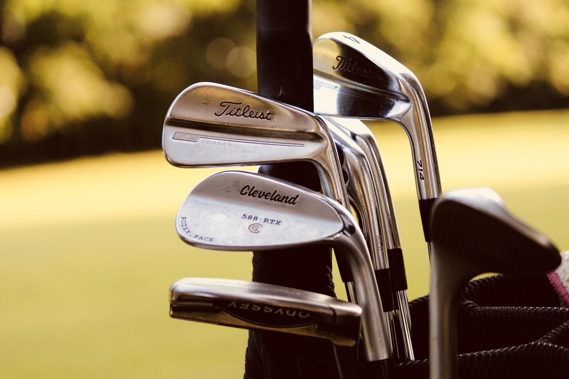 Vårstäda golfbagen
